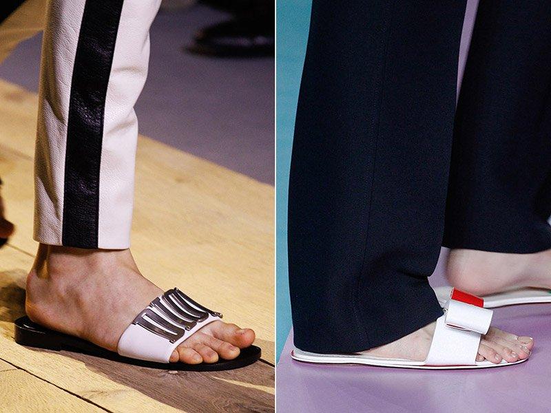 módne flip-flopy do kancelárie