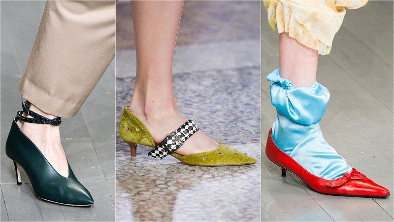 обувные тенденции 2018