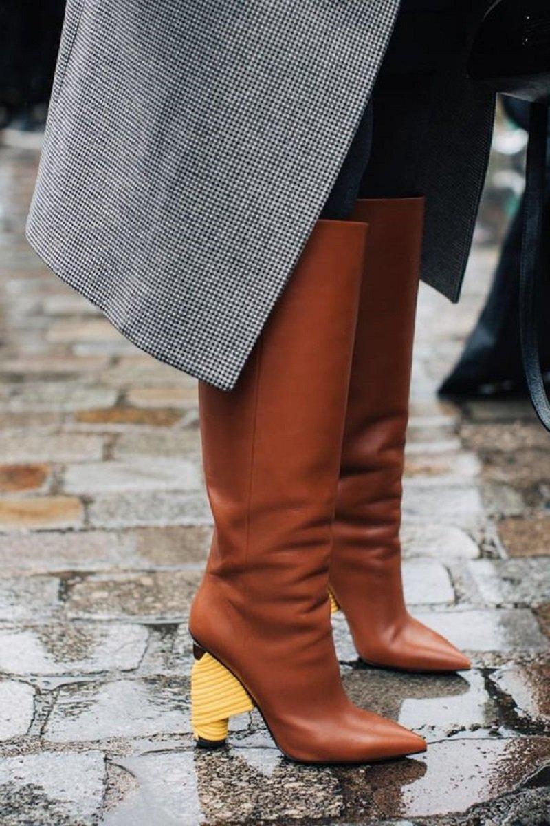 женская осенняя обувь 2017