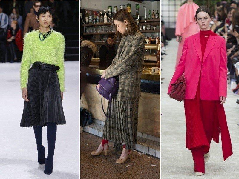 модные тренды в одежде осень 2018