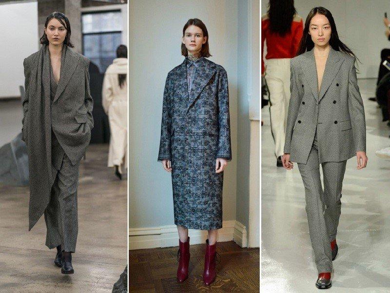 модные тренды осень зима 2019