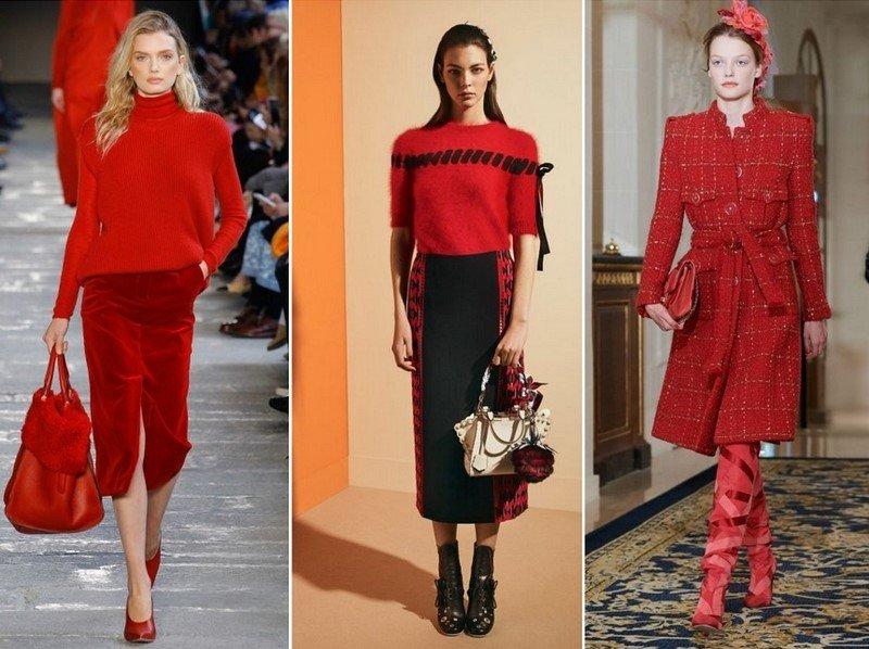 модные тренды на осень 2018