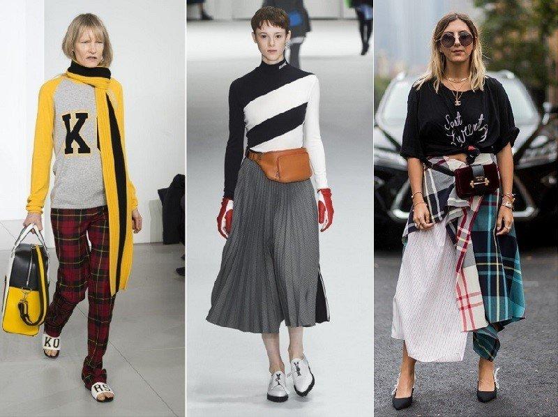 модные тренды осень зима 2018