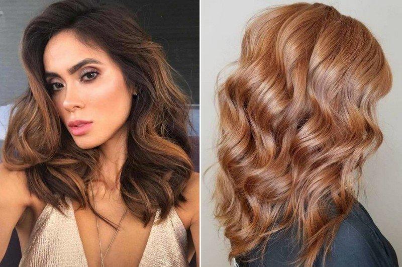модное окрашивание 2019 на средние волосы