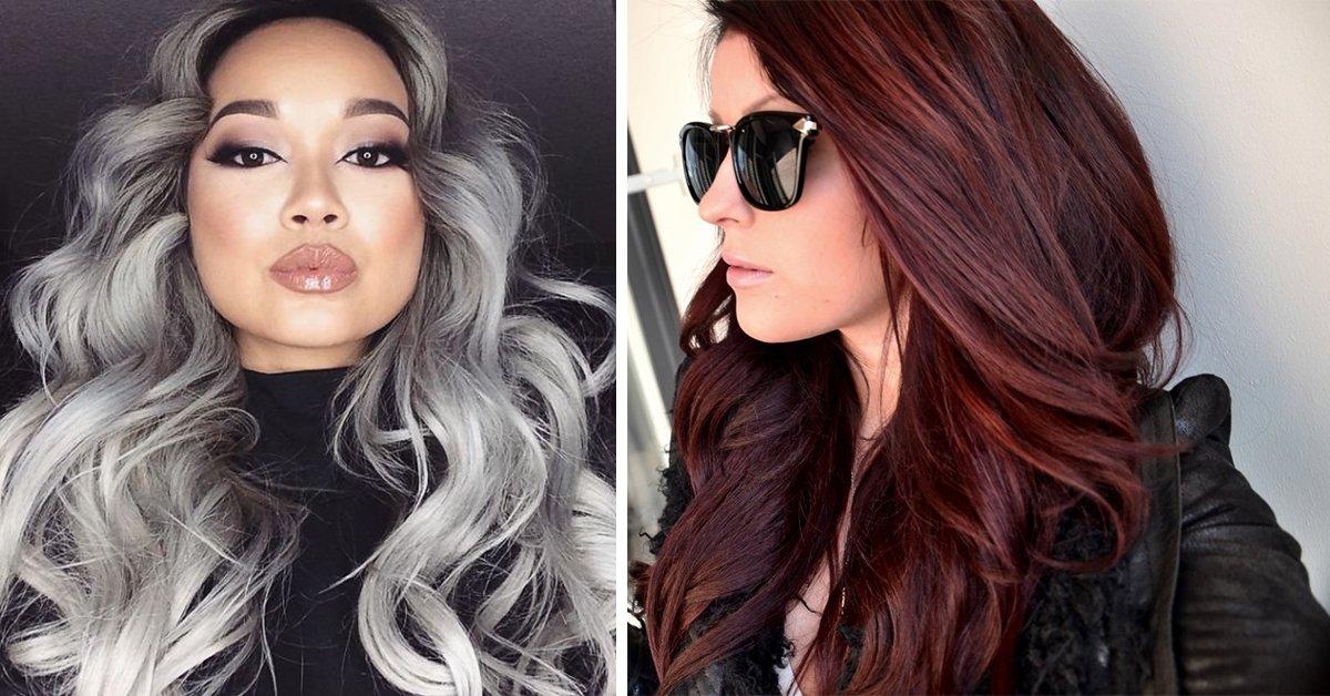 Перейти из красного цвета волос