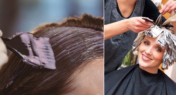 окрашивание волос — 2019