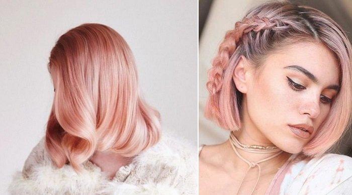 кератиновое выпрямление и окрашивание волос