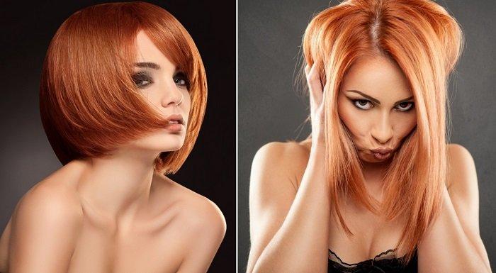 ламинирование и окрашивание волос