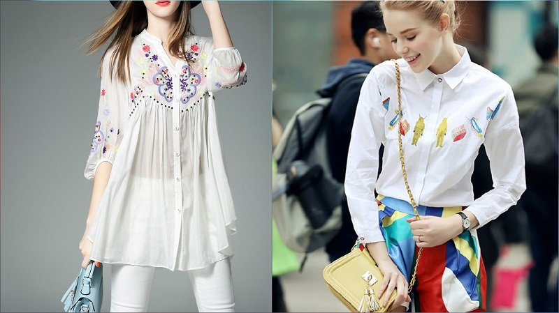 модные блузки 2017 года