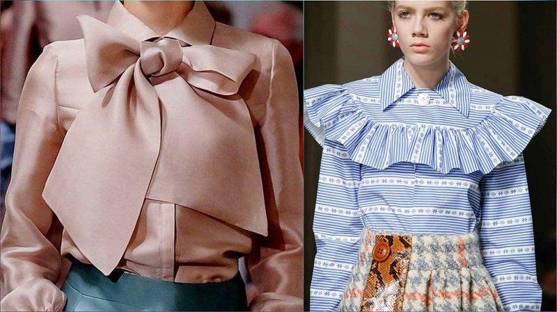 модные блузки в 2017 году