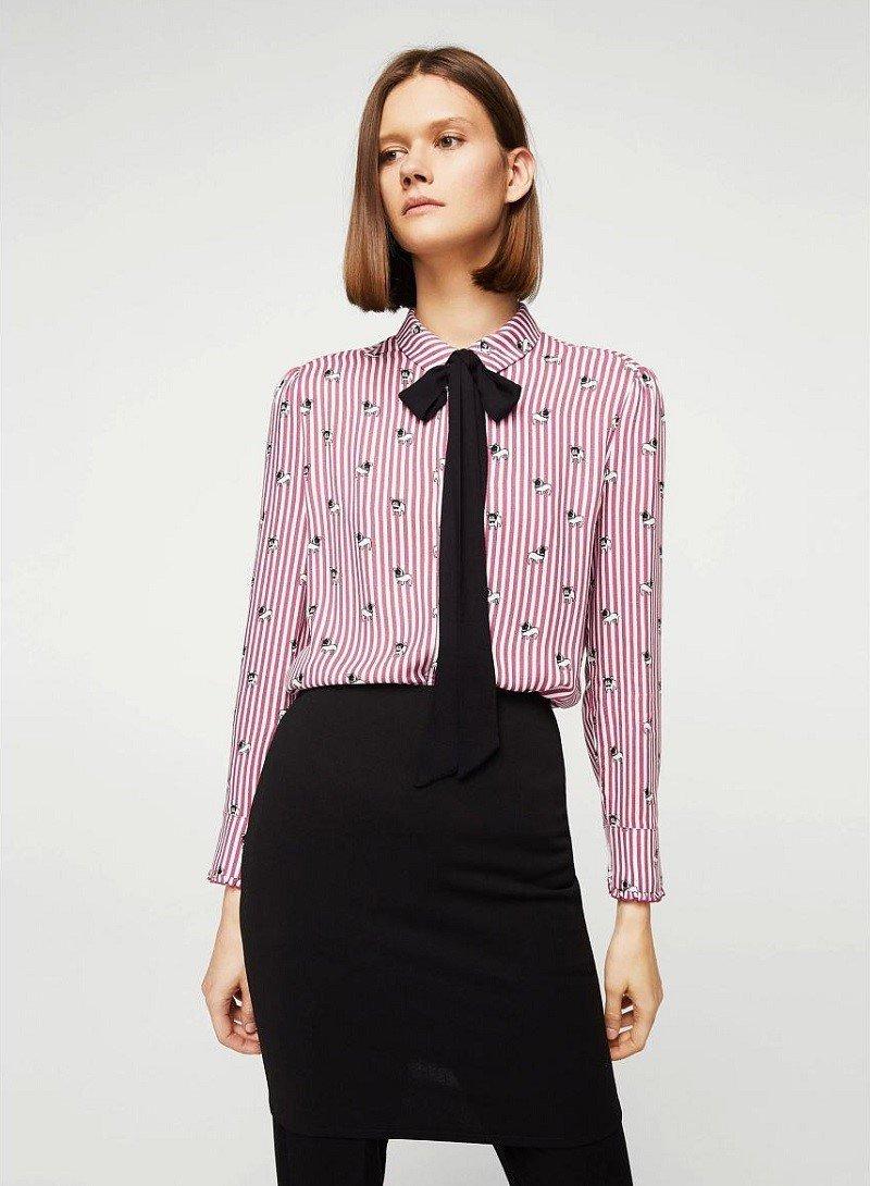 модные блузки с кружевом