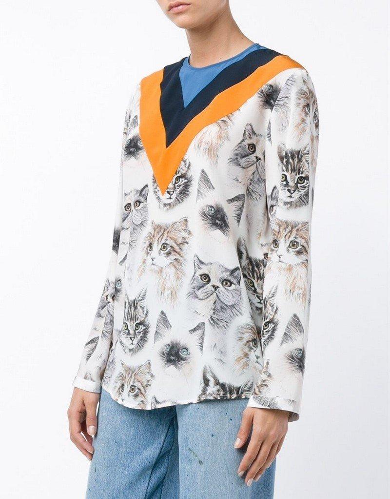 модные блузки лето 2018 года