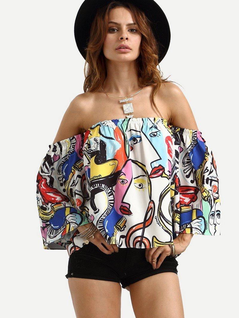 модные блузки рубашки 2018