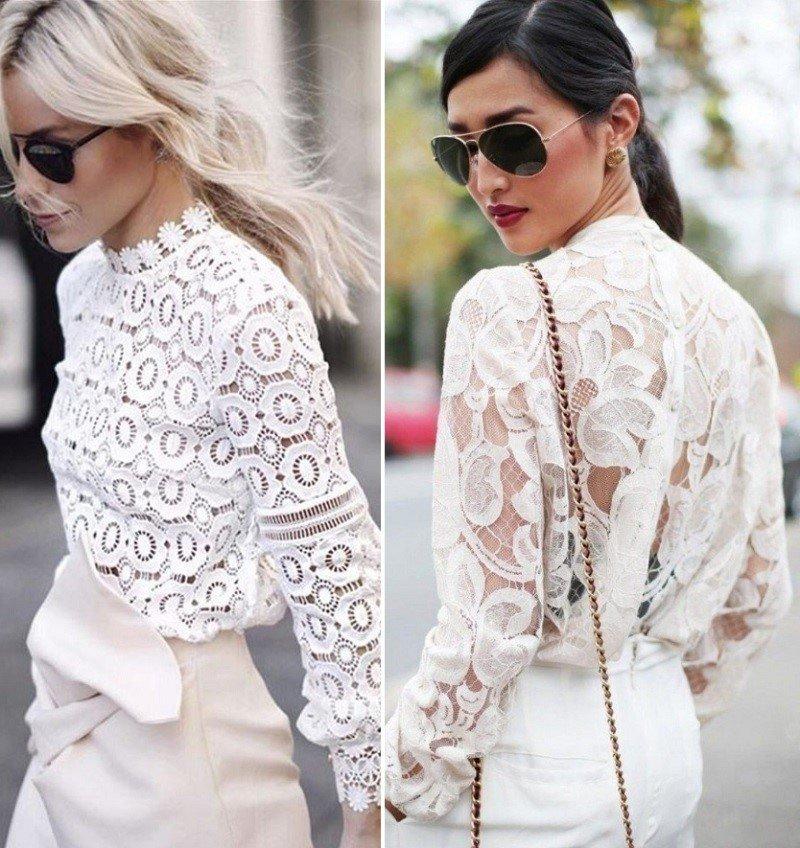 модные блузки 2018 года