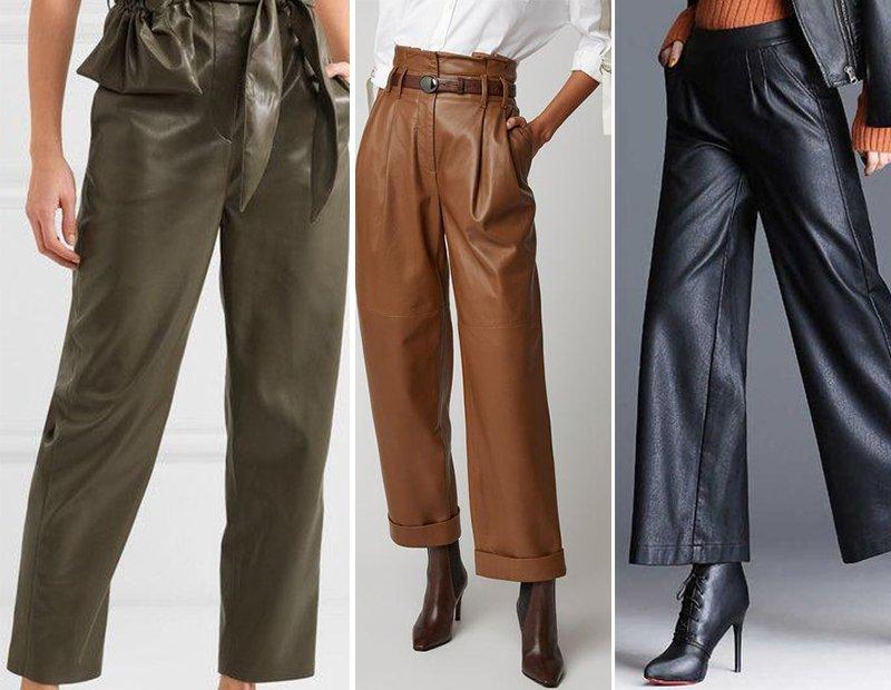 брюки модные тенденции