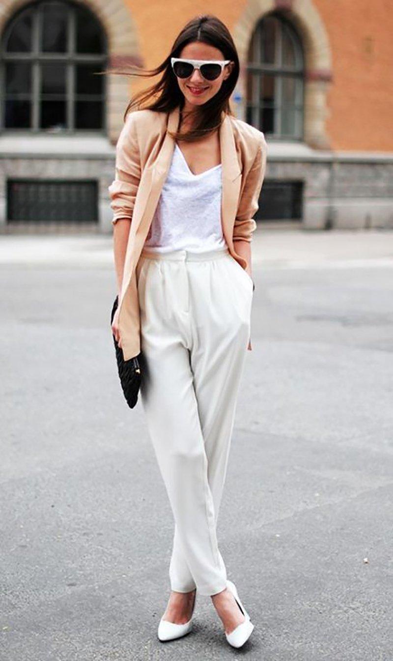 модное сочетание одежды