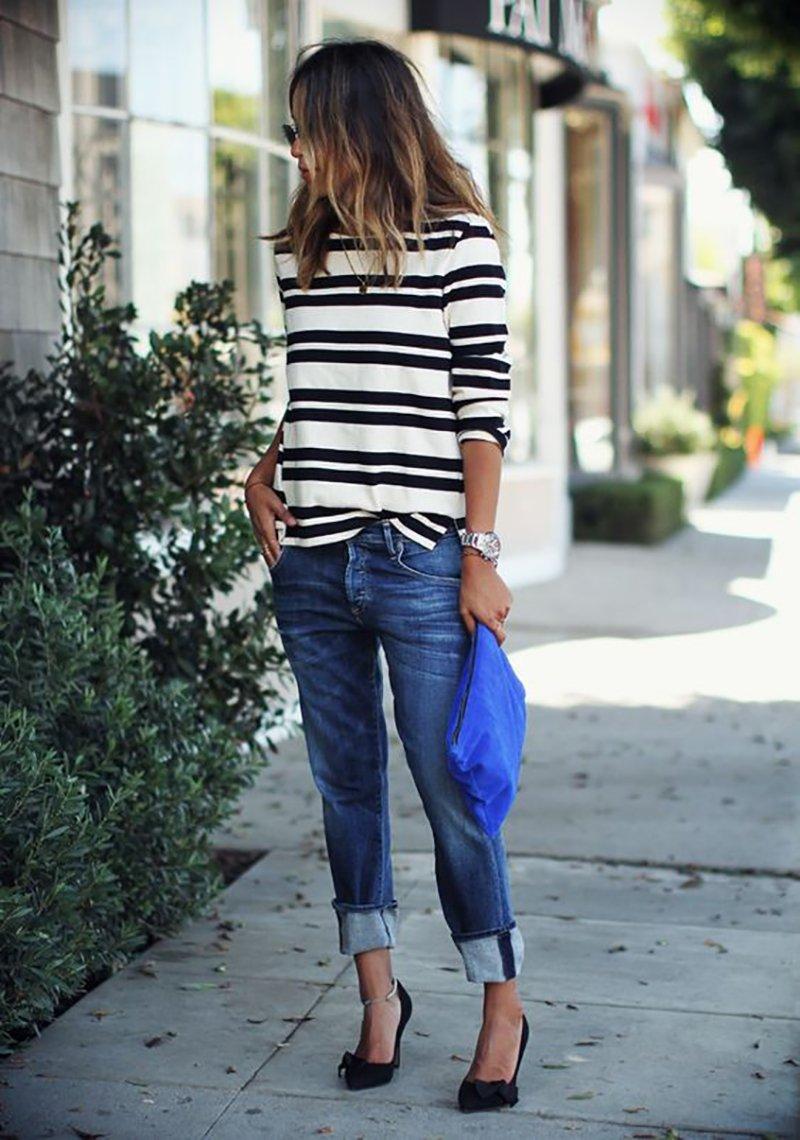 джинсовый образ