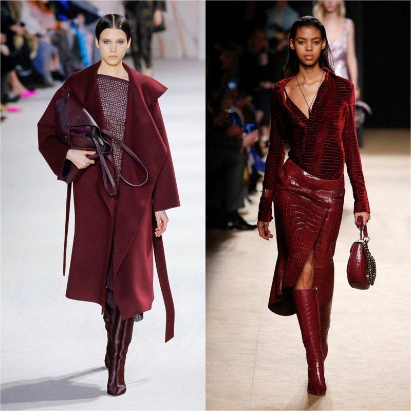 модные цвета осень зима 2019