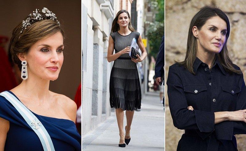 Королева Испании Летисия носит красный по королевски новые фото