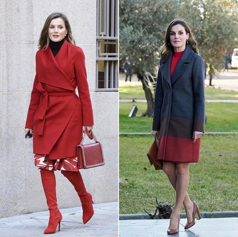 красный цвет в одежде для женщин