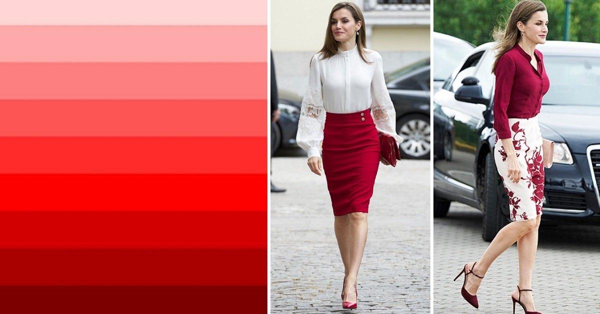 Смотреть Королева Испании Летисия носит красный по королевски видео