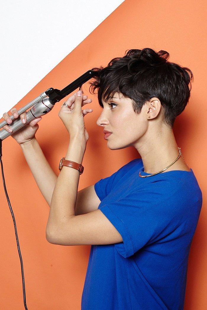 стрижка пикси на тонкие волосы