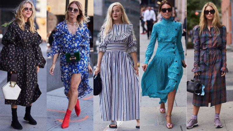 модные образы для женщин 2018