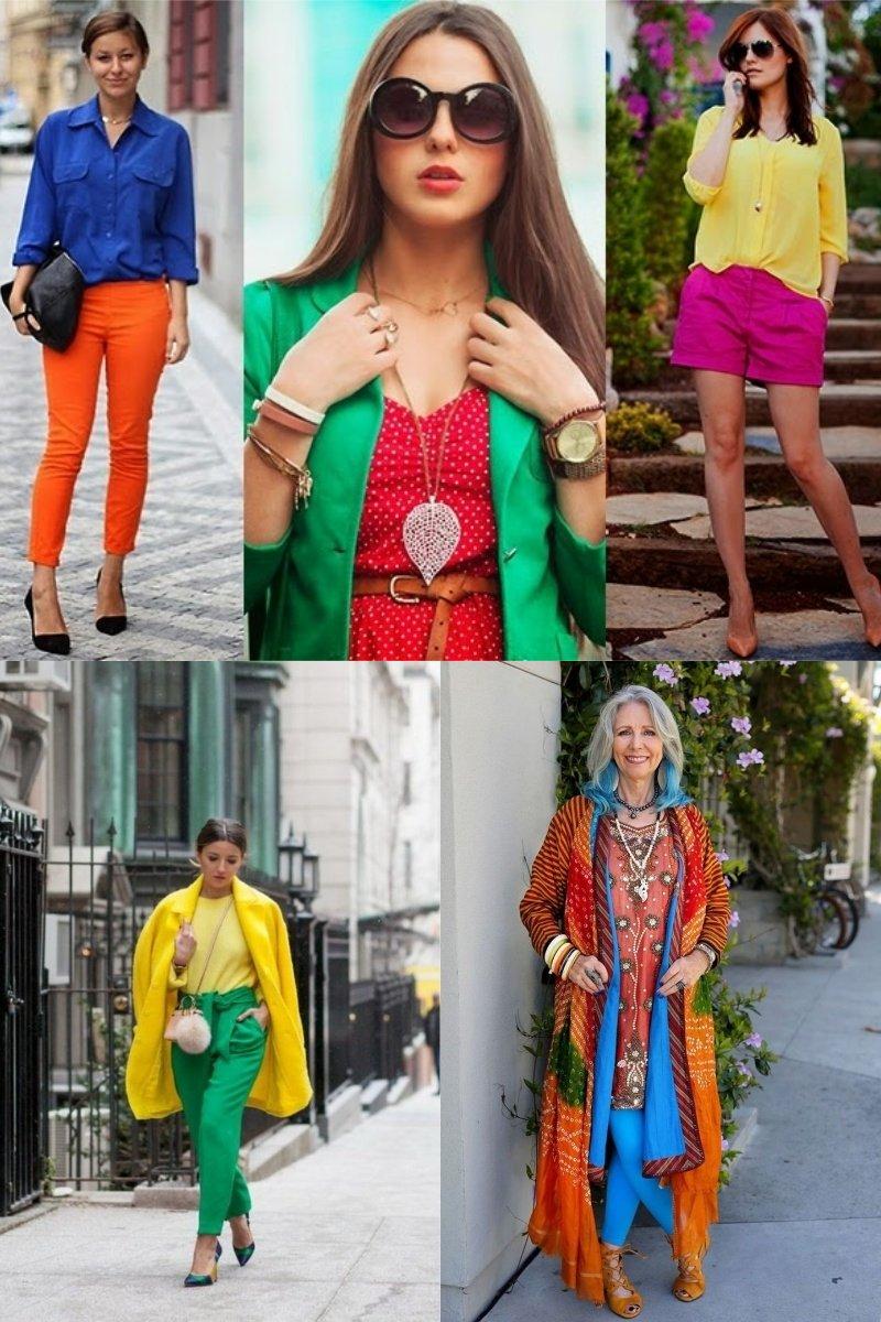 модные образы 2018 года