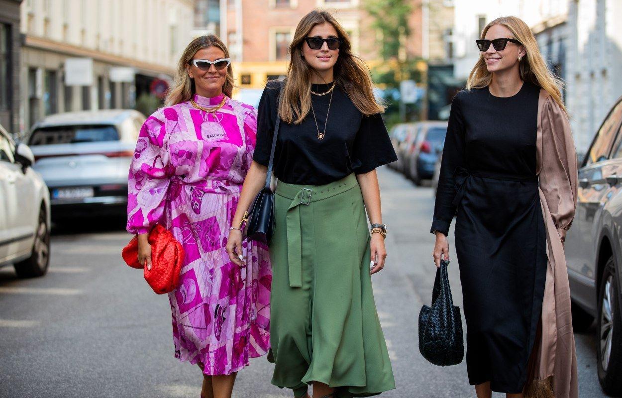 Оттенки одежды, с которыми последняя клуша станет модной женщиной