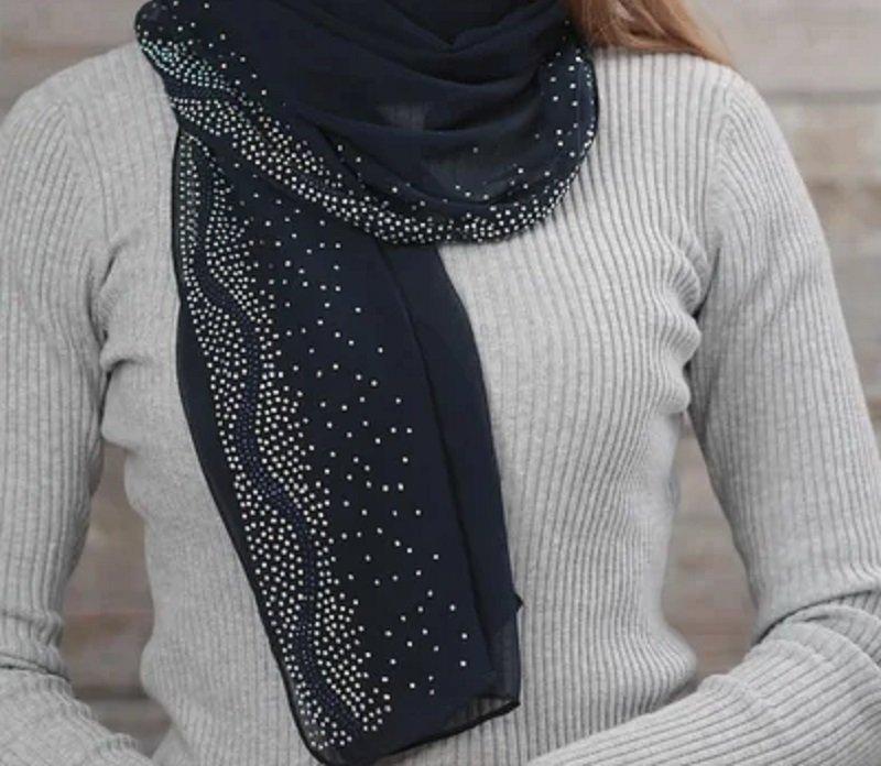 шарф модный аксессуар