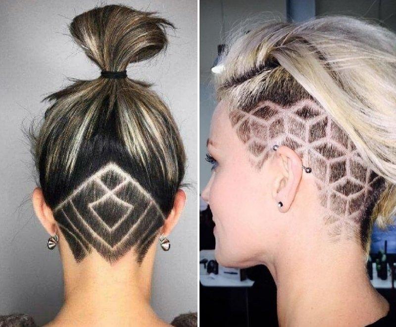 модные стрижки волос 2019