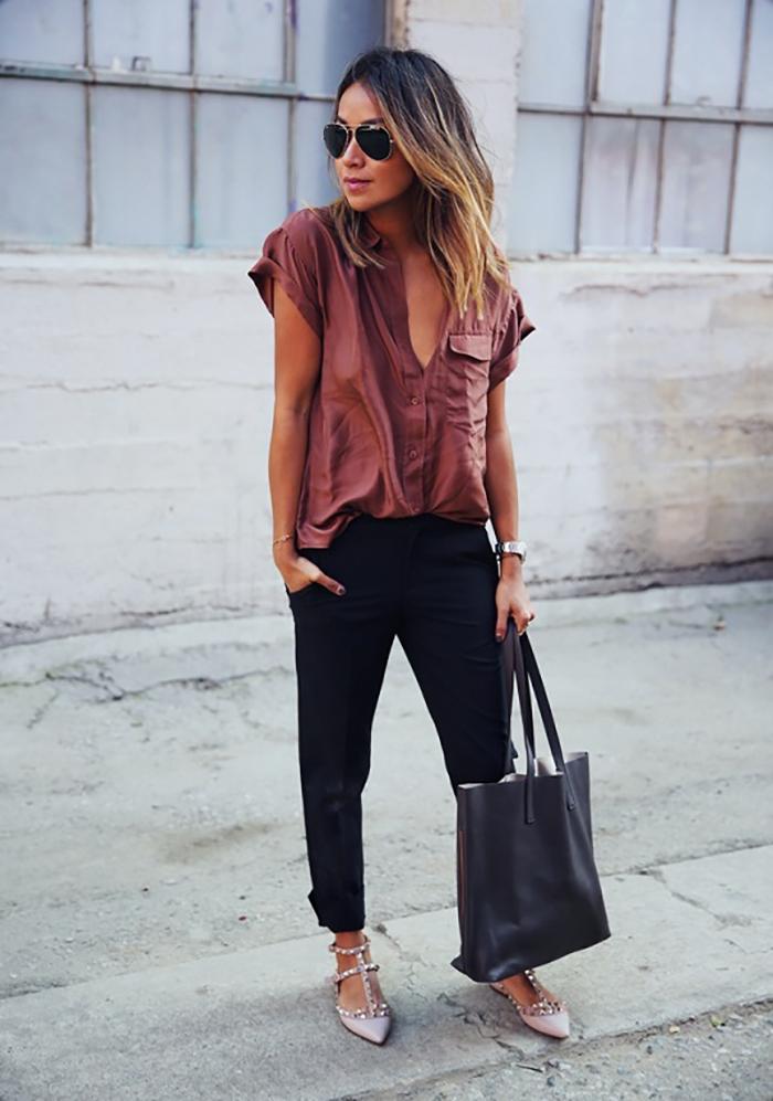 деловой стиль брюк