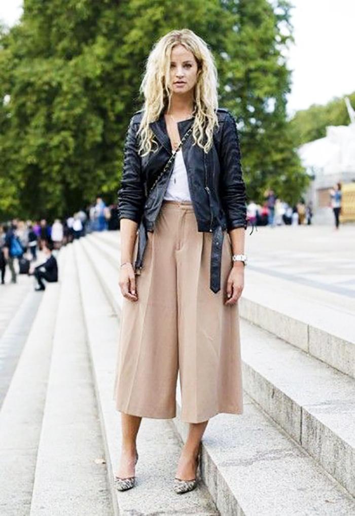 брюки свободного стиля