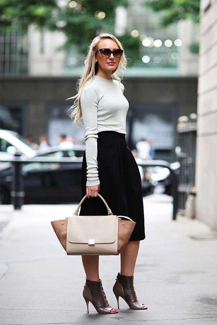юбка и брюки