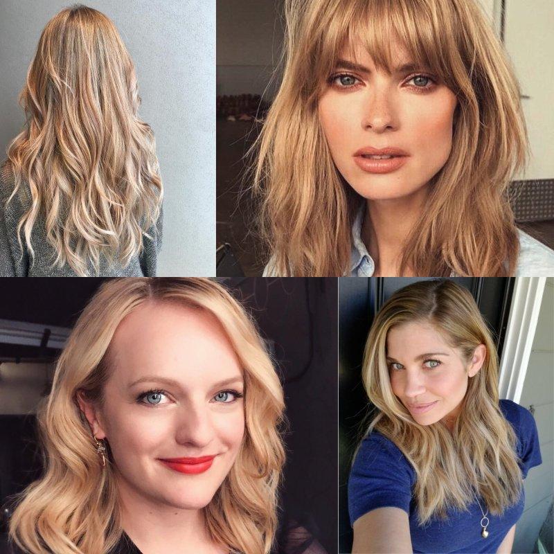 модные оттенки волос