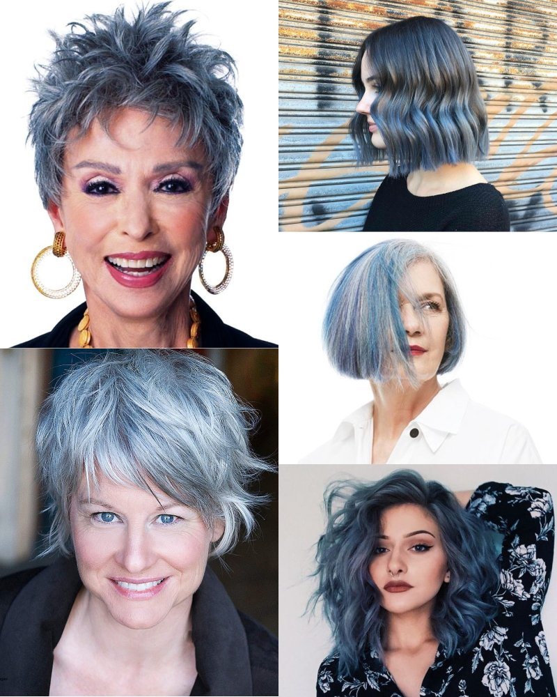 стильные цвета волос