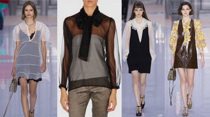 модные платья и блузы
