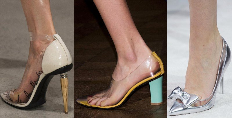 туфли 2018 мода
