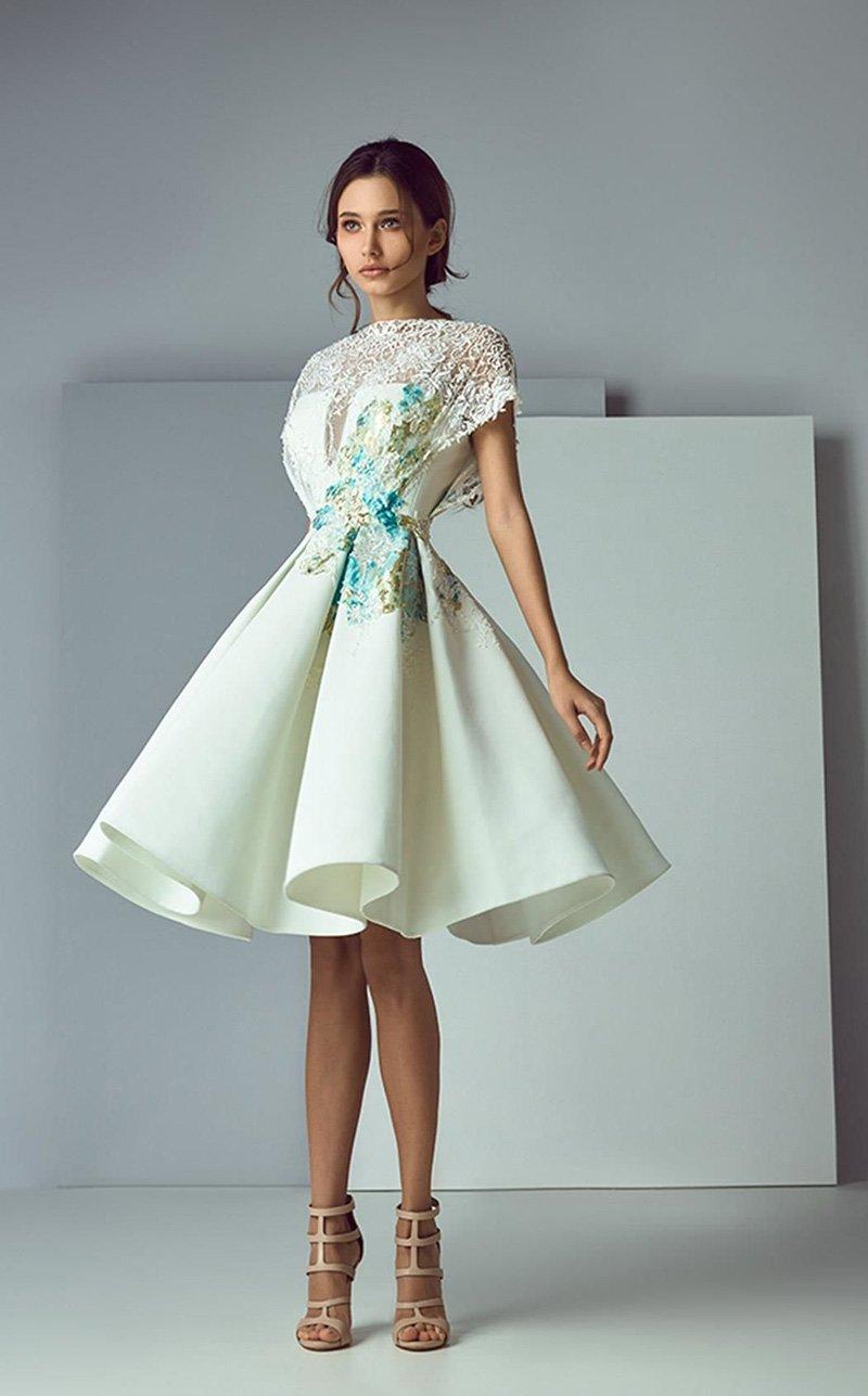 вечерние платья миди