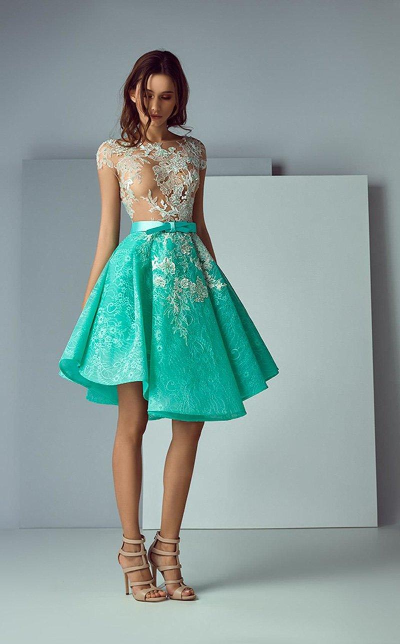 вечерние платья из шелка