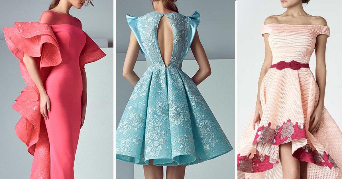 Интересные красивые платья
