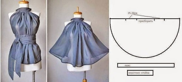простые выкройки одежды