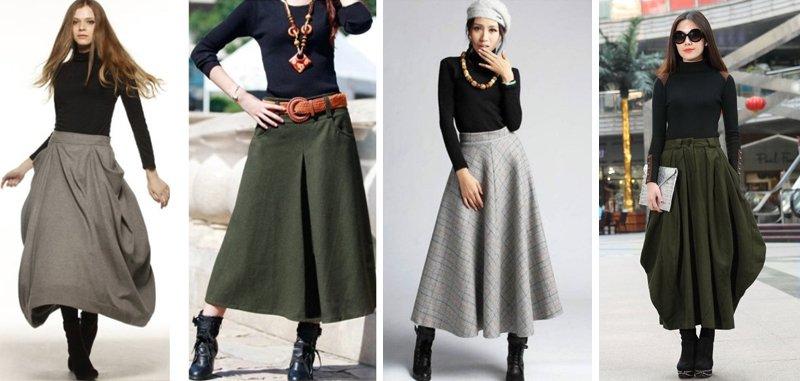 модные юбки для женщин среднего возраста