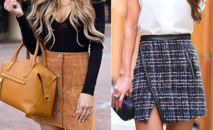 модные юбки из шифона