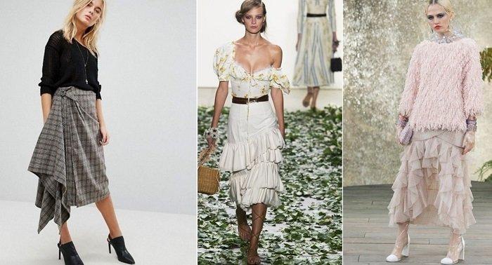 модные юбки лето-2018