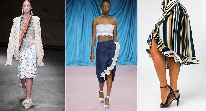 модные юбки весна-2018