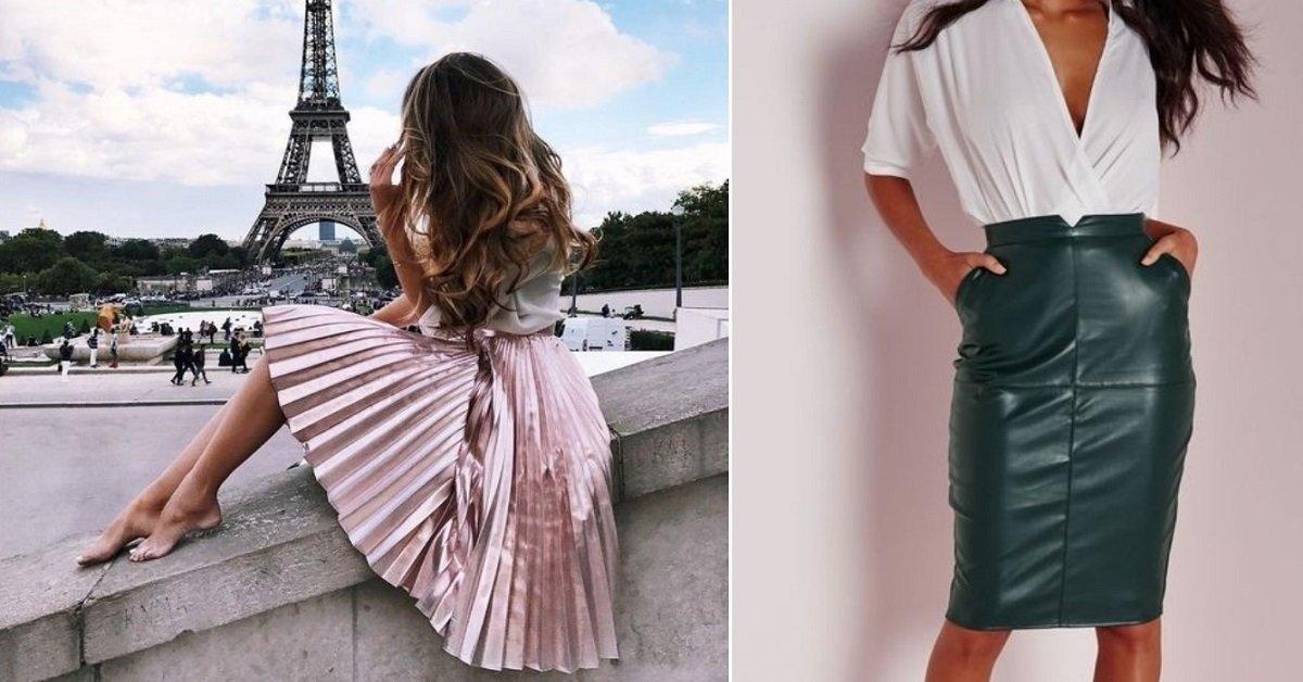 44391d308d4 Модные юбки весна-2018