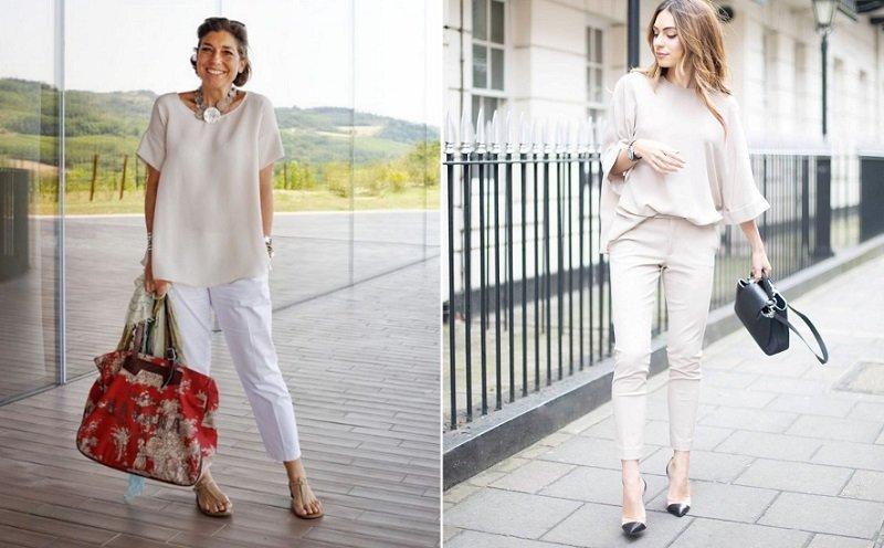 брюки чинос женские с чем носить