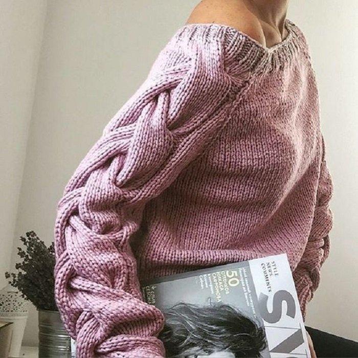 женские свитера из натуральной шерсти