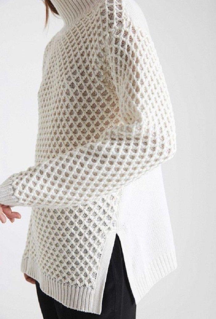 женские свитера из ангоры спицами